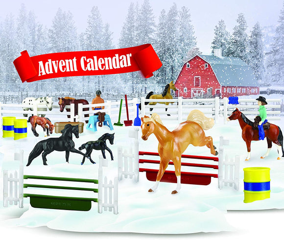 Breyer Horses 2020 Holiday Collection | Holiday Advent Calendar | Model #700700 Advent Calendar