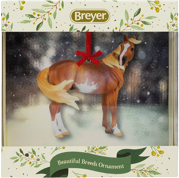 Breyer Horses 2020 Holiday Collection | Beautiful Breeds Ornament - Mustang | Model #700521 Beautiful Breeds Ornament - Mustang