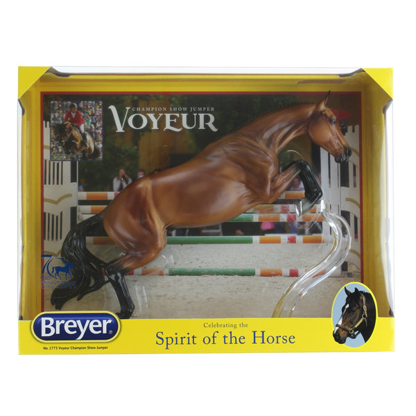 "Breyer Traditional Series Voyeur Champion Show Jumper | Model Horse Toy | 13.5"" x 9.5"" 