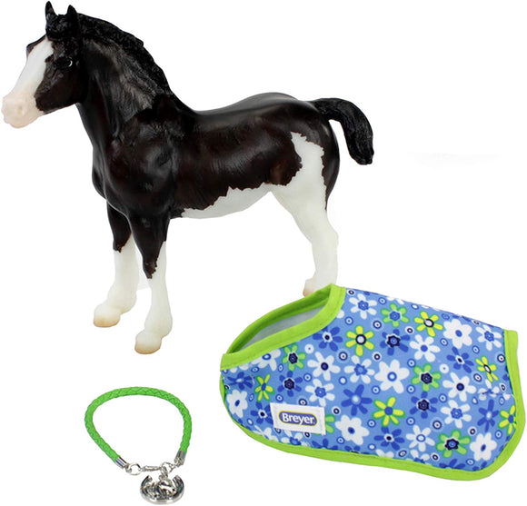 Breyer Traditional Series Shadow - Foal with Friendship Bracelet | Model Horse Toy | 7.5