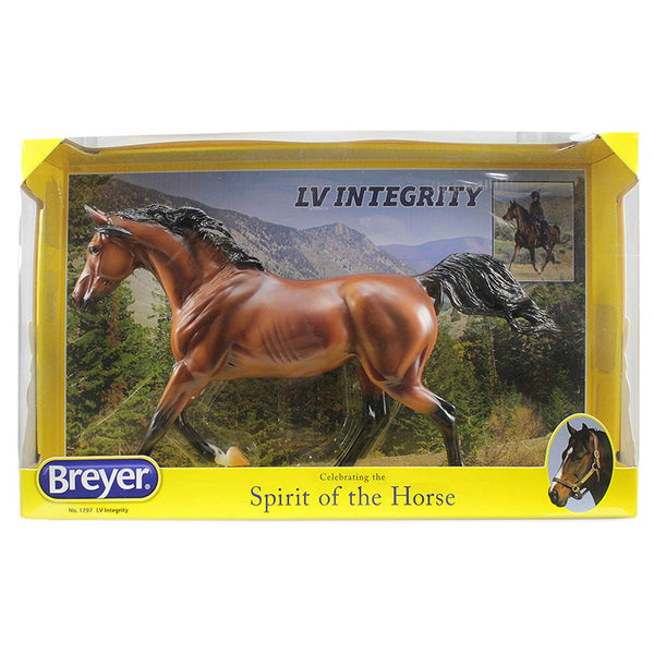"Breyer Traditional Series LV Integrity+/ Arabian Gelding | Horse Toy Model | 12"" x 9"" 