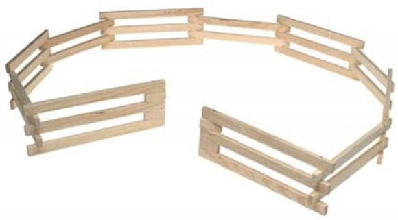 Breyer Traditional Wood Corral Fencing Accessory Toy 1:9 Scale Model #7500