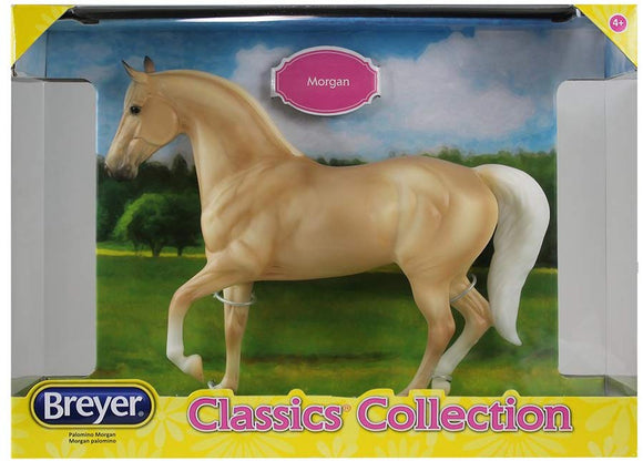 Breyer Classics Palomino Morgan Horse Toy 1: 12 Scale Model #917