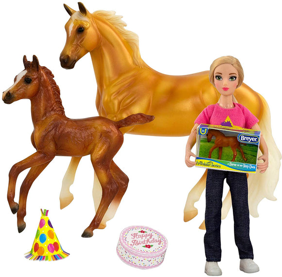 Breyer Freedom Series Birthday at The Barn 5 Piece Set 1:12 Scale Model #62301