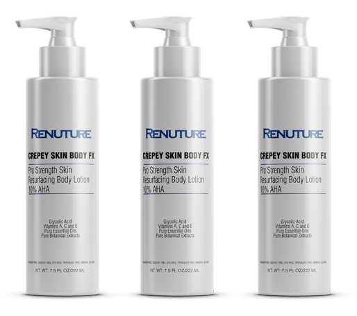 Crepey Skin Body FX 3 Pack - Fragrance Free