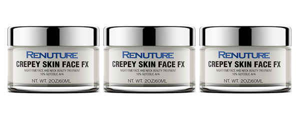 Crepey Skin Face FX 3 Pack