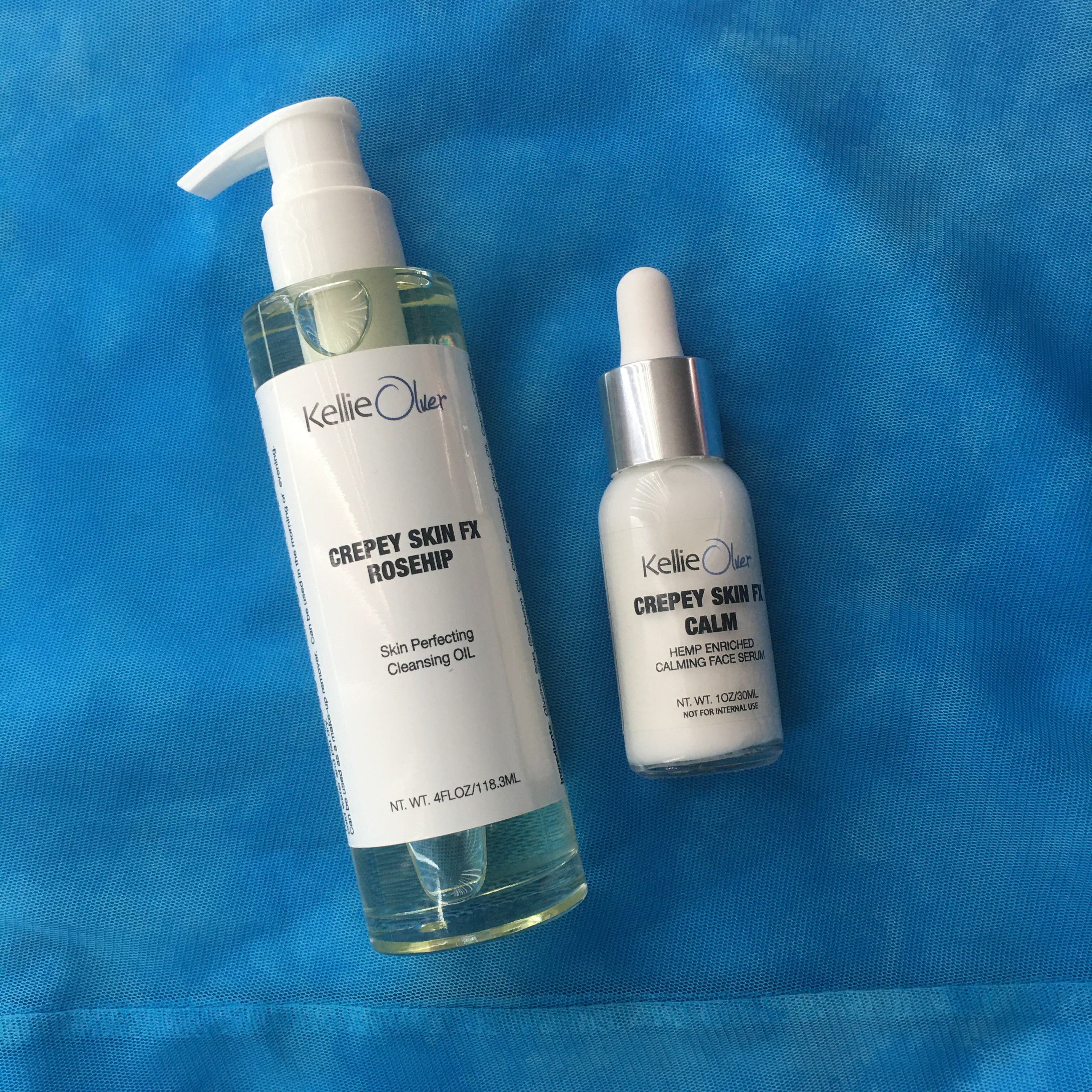Dynamic Duo - Calm, Rosehip Skin Perfecting Oil