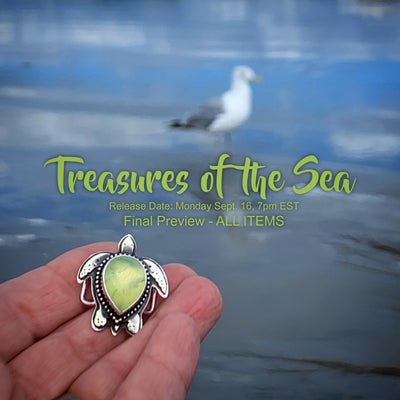 Treasures of the Sea - Final preview - ALL items