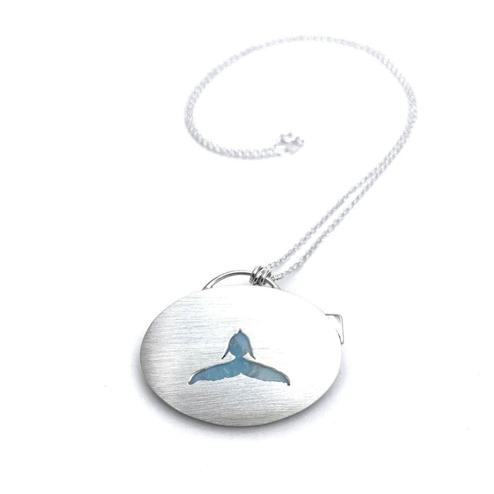Larimar Whale Necklace