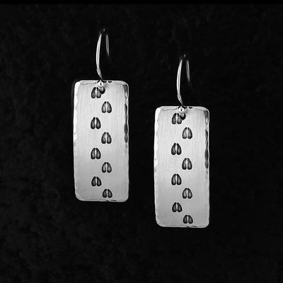 Deer Tracks Earrings