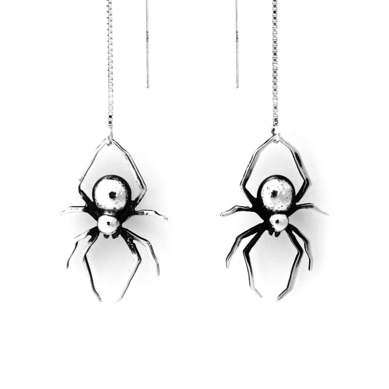Spider Earrings, Ear threads