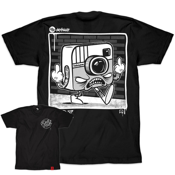 'Anti Social Media' T-Shirt (Black)