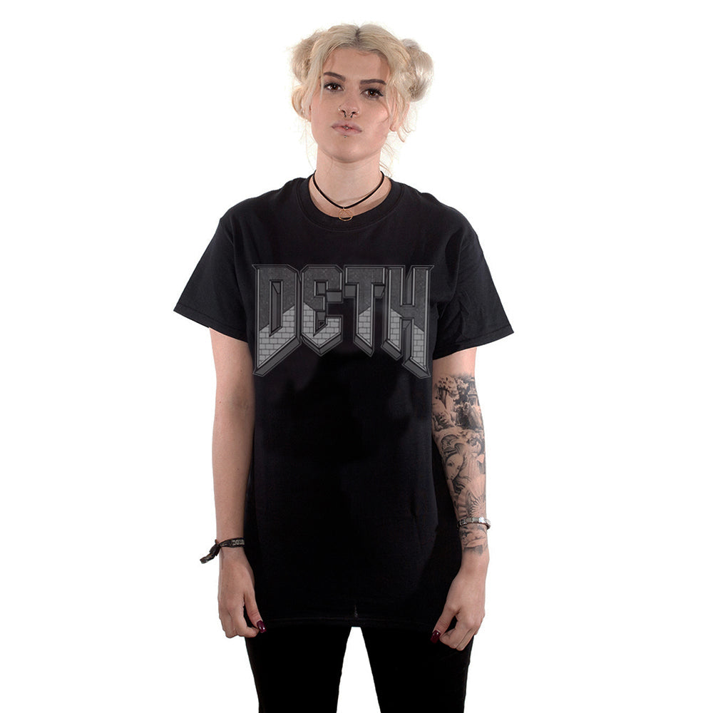 'DOOMED' T-Shirt (Black) - Deth Kult