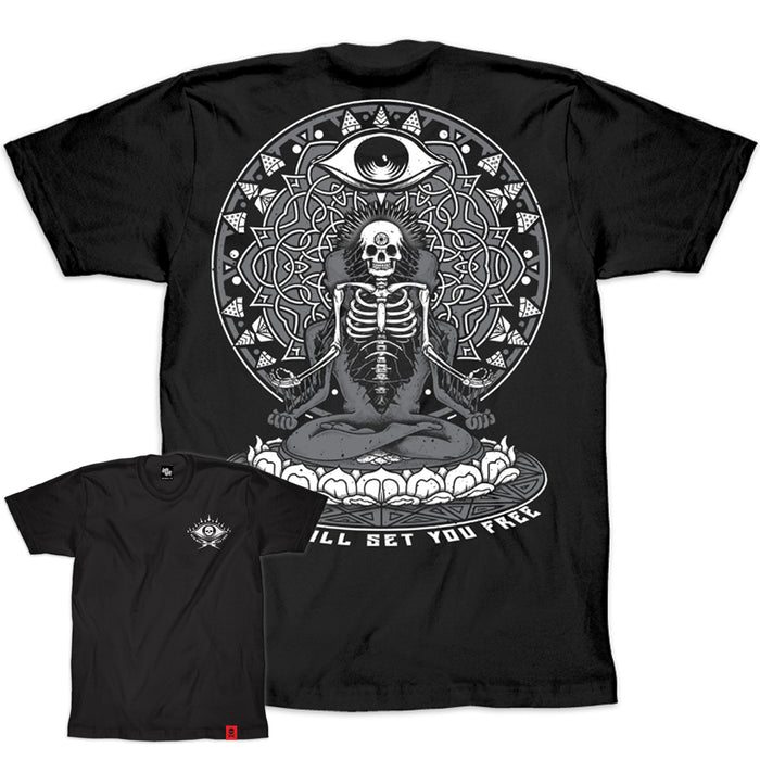 'Deth Will Set You Free' T-Shirt (Black) - Deth Kult