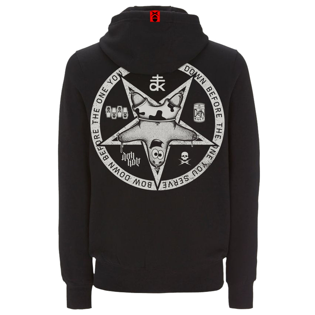 'Patrickgram 2019' Zipped Hoodie (Black) - Deth Kult