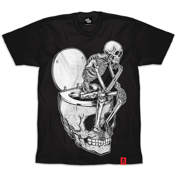 'Shit For Brains' T-Shirt (Black)