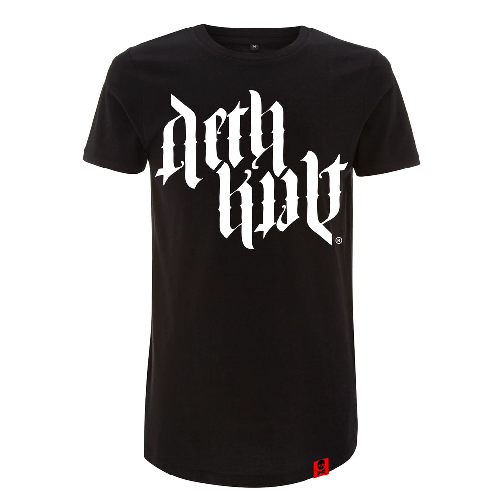 'Trademark Ambigram 2019' T-Shirt (Black) - Deth Kult