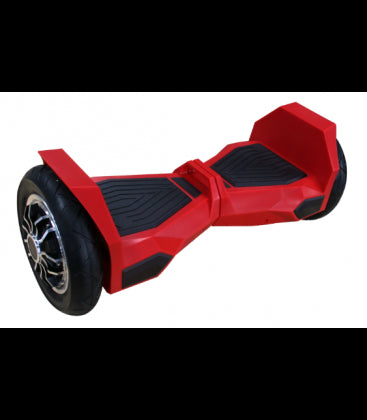 LS Certified Bluetooth Hoverboard Smart Self Balancing Electric Scooter All Terrain - Red