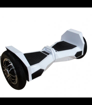 LS Certified Bluetooth Hoverboard Smart Self Balancing Electric Scooter All Terrain - White