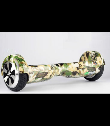 LS Certified Smart Self Balancing Electric E Scooter Hoverboard - Camouflage