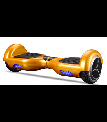 LS Certified Smart Self Balancing Electric E Scooter Hoverboard - Gold