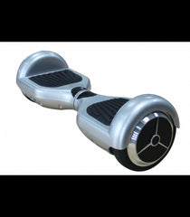 LS Certified Smart Self Balancing Electric E Scooter Hoverboard- Silver