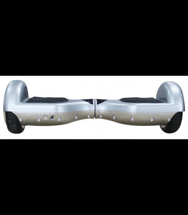 LS Certified Smart Self Balancing Electric E Scooter Hoverboard - Silver