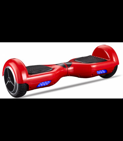LS Certified Smart Self Balancing Electric E Scooter Hoverboard - Red