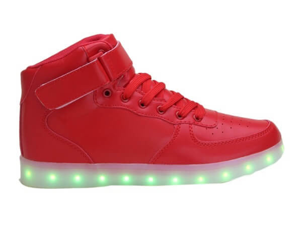 High Top™ - LED Shoes - Light Up Shoes Kids Boys Girls Red