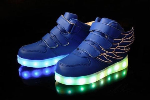 Wings™ LED Light Up Shoes for Toddler - Blue