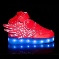 Wings™ LED Light Up Shoes for Toddler - Red