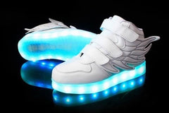 Wings™ LED Light Up Shoes for Toddler - White