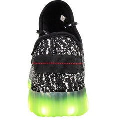 YZ™ LED Light Up Shoes for Little Kids - Black