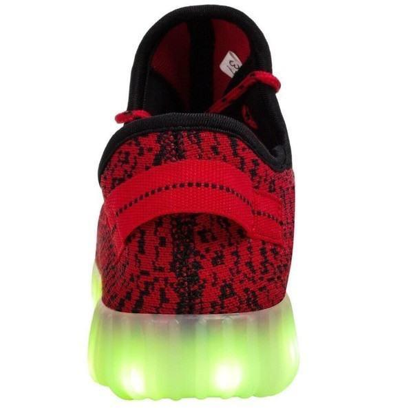 YZ™ LED Light Up Shoes for Kids - Red
