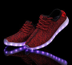 YZ™ LED Light Up Shoes for Women - Red