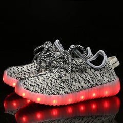 YZ™ LED Light Up Shoes for Toddler - Gray/Grey