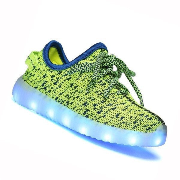 YZ™ LED Light Up Shoes for Toddler - Green