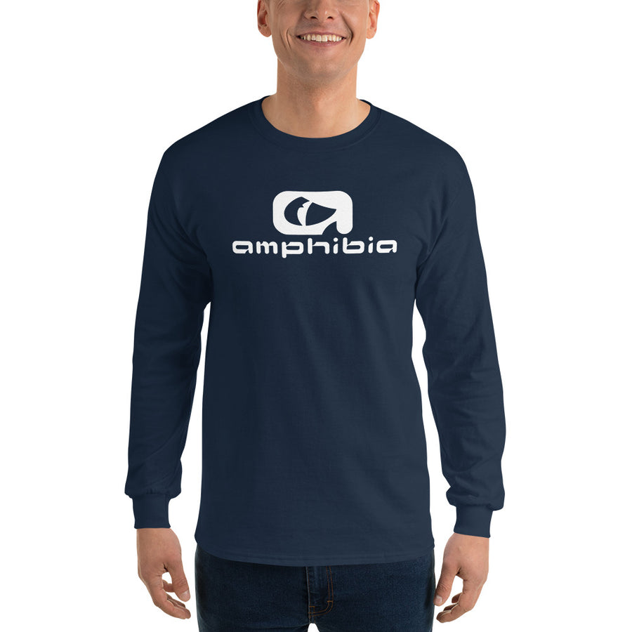 Amphibia Cotton Long Sleeve T-Shirt - Amphibia
