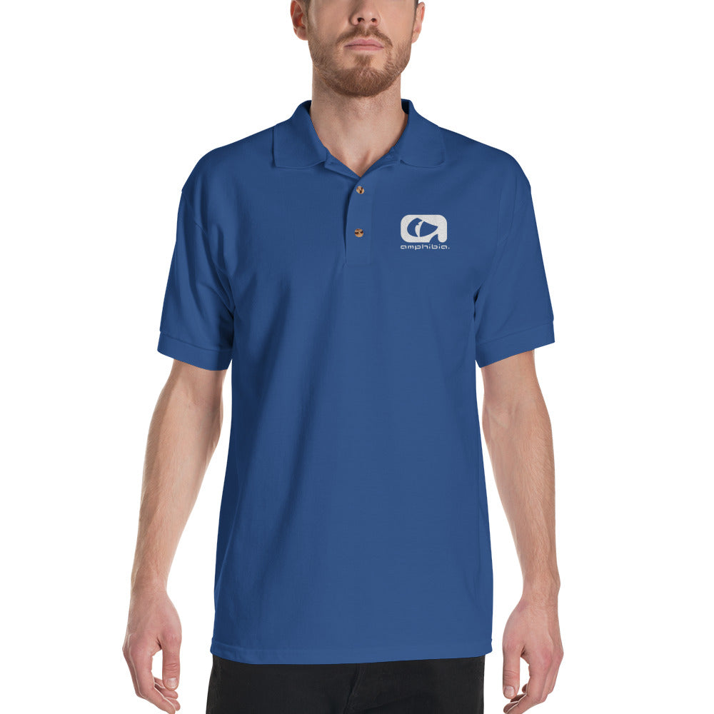 Amphibia Embroidered Polo Shirt
