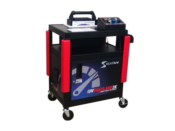 UV Fastlane 2K Cart-Automotive Collision Curing System