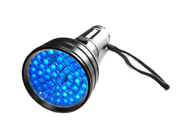 51-LED Portable UV Flashlight - 395nm Blacklight