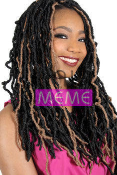 Superline Collection 3X NUBIAN LOCKS 18""