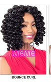 Superline Collection Bounce Curl Crochet Braid