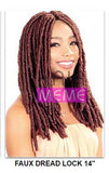 "BLACK FRIDAY DEAL Superline Collection Faux Dread Lock 14"" Crochet Braid"