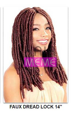 "Superline Collection Faux Dread Lock 14"" Crochet Braid"