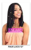 "Superline Collection Faux Locs 12"" Crochet Braid"