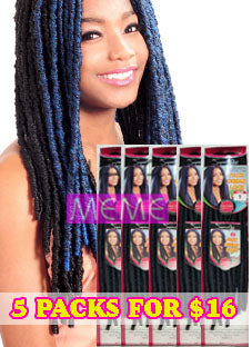 BLACK FRIDAY DEAL Superline Collection Faux Dread Lock 18""
