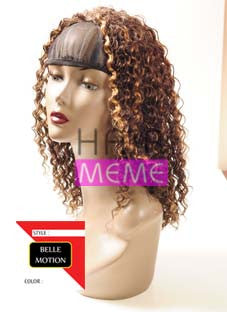 Belle Motion Synthetic Half Wig Girl Jerry