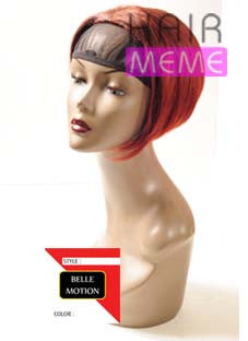 Belle Motion Synthetic Half Wig Girl Mini Bob