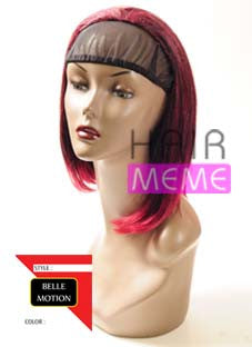 Belle Motion Synthetic Half Wig Girl Straight